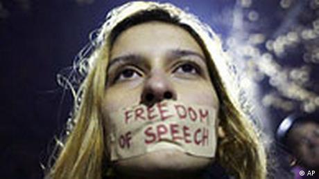 Bulgarien Russland Proteste gegen Besuch von Wladimir Putin (AP)