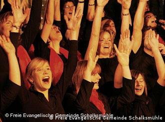 Living Gospel Choir from the Free Evangelical Church in Schalksmühle, Germany