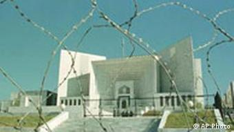 Supreme Court in Islamabad, Pakistan