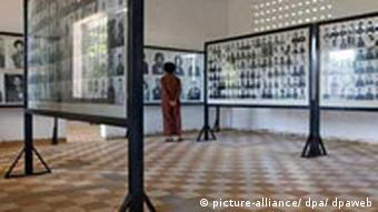 The Tuol Sleng Museum of Genocidal Crimes is housed in a former Khmer Rouge torture center