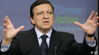 EU Commission President Barroso