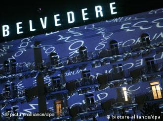 Hotel Belvedere in Davos, Quelle: dpa