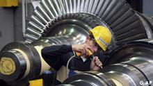 Deutschland Siemens Hauptversammlung Turbinenwerk in Görlitz