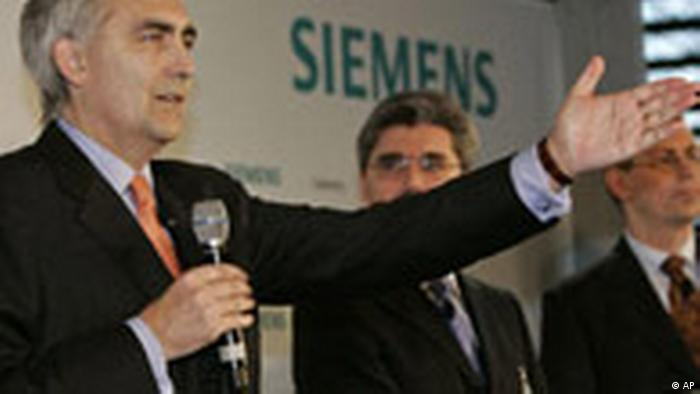 siemens scandal Guest lecture by thomas k hauser chief compliance officer for siemens healthcare global, siemens ag (germany).