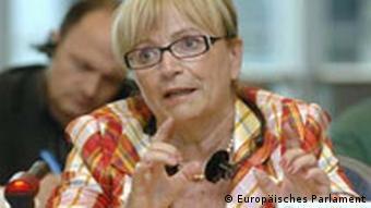 Doris Pack, deutsche EU-Abgeordnete der Europäischen Volksparteien (EVP), Balkan-Expertin im Europäischen Parlament (Foto: Europäisches Parlament)