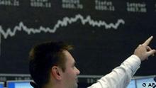 Deutschland Wirtschaft Börse Kurse in Frankfurt DAX