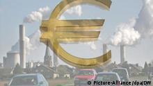 Symbolbild Klimaschutz Klimawandel Kosten Euro