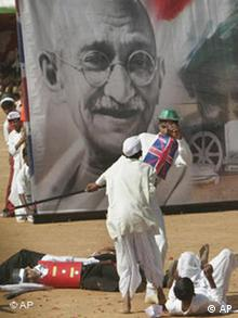 Mahatma Gandhi Indien, 59th Republic Day