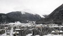 Schweiz Wirtschaft Weltwirtschaftsforum in Davos Landschaft
