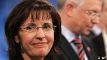 Deutschland Wahlen Landtagswahlen Hessen SPD Andrea Ypsilanti und Roland Koch CDU