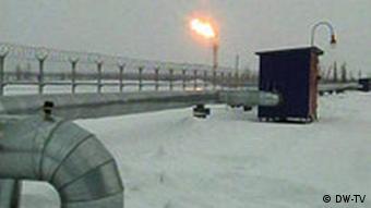 Газопровод в Сибири