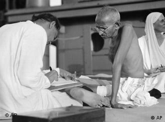 Mahatma Gandhi remains a revered figure in India and across the world