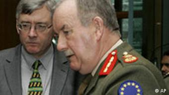 Commander of EU forces General Patrick Nash