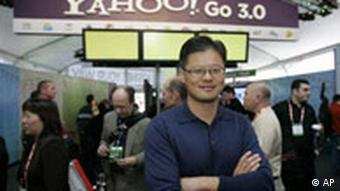 Yahoo-Chef Jerry Yang, Quelle: AP