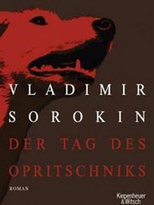 Buchcover Vladimir Sorokin Der Tag des Opritschniks