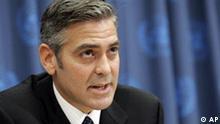 USA Schauspieler George Clooney UN-Friedensbotschafter zu Darfur