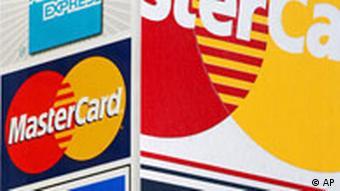 Symbolbild Kreditkarten Logo Kreditkarte Plastikgeld