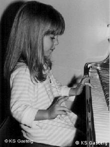 Violinistin Julia Fischer als Kind