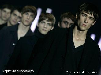 A group of male models