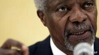 Former UN Secretary- General Kofi Annan