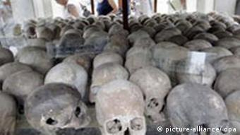 Over a million Cambodians died under the Khmer Rouge from executions or starvation