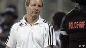 Ghana Fußball Afrika Cup 2008 Nigeria Trainer Berti Vogts