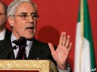 Franco Marini: Gobierno de transición no fue posible.