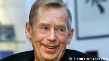 Tschechiens Ex-Präsident Vaclav Havel