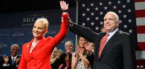 John McCain am Super Tuesday