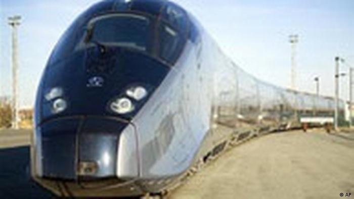 TGV Zug (AP)