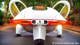 Futuristische Automodelle Elektro-Auto der Zukunft Aptera Typ-1
