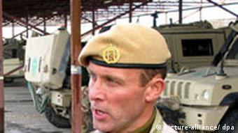 head of the NATO-led Norwegian Quick Reaction Force (QRF) Rune Solberg