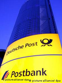 Postbank in Bonn sucht Fusionspartner