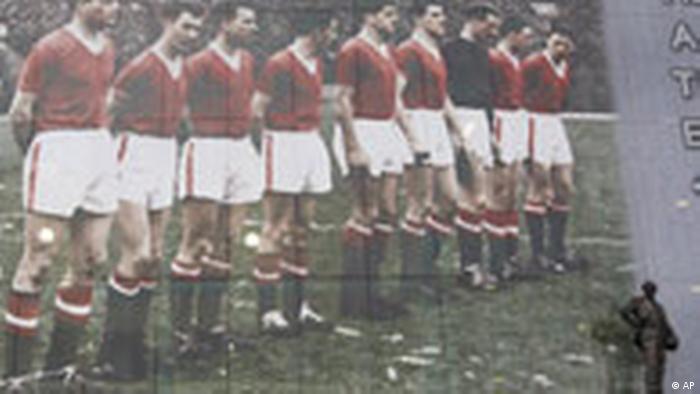 50. Jahrestag Flugzeugabsturz Manchester United (AP)