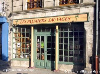 Das Antiquariats Les Palmieres Sauvages in La Charite-sur-Loire
