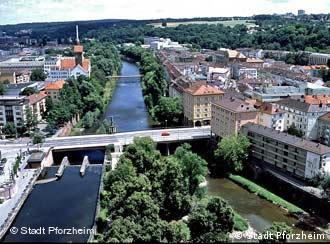 Três rios se encontram na cidade