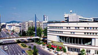 Pforzheim Stadtbibliothek Gernikabrücke