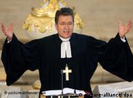 El obispo luterano Wolfgang Huber.
