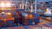 Exportweltmeister Deutschland Hamburger Hafen