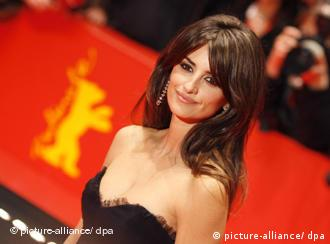 Spanish actress Penelope Cruz, at Germany's Berlinale film festival