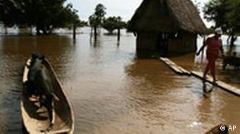 Überflutungen in Bolivien(AP Photo/Juan Karita)
