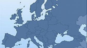 Europakarte, DW-TV