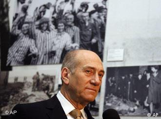Visita ao Museu Judaico é o primeiro compromisso da agenda de Olmert em Berlim