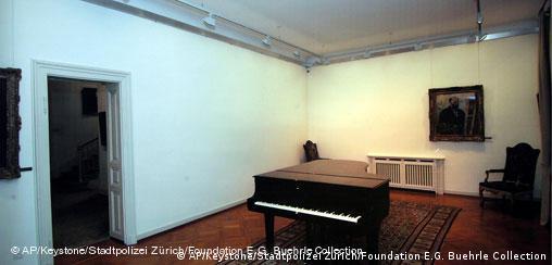 Schweiz Kunstraub in Zürich Stiftung Bührle