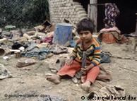 В много региони ромите живеят в мизерни условия