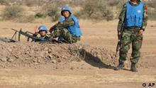 Chinesische UN Soldaten in Darfur Sudan China