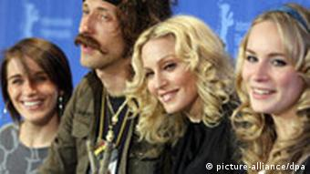 Berlinale - Madonna Filth and wisdom Berlin