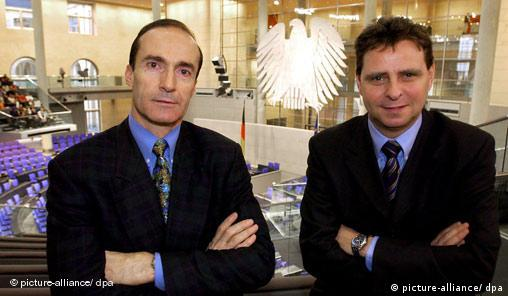 Eberhard Gienger und Bernd Heynemann