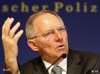 Sagt der Dopingmafia den Kampf an: Bundesinnenminister Wolfgang Schäuble