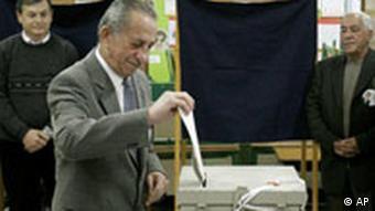 Seine eigene Stimme reichte nicht: Tassos Papadopoulos